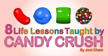 Candy crush - lessons form the game itself