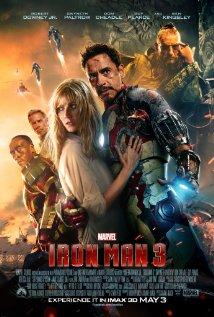 Iron Man 3 - Iron Man 3, starring Robert Downey Jr., Gwyneth Paltrow, Don Cheadle