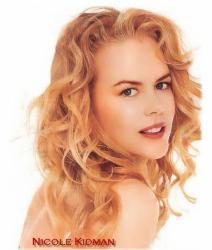 Nicole Kidman, - actress.