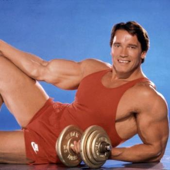 Arnold Schwarzenegger, Young Body-Building Model