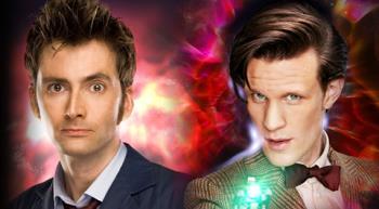 David Tennant & Matt Smith, Doctors 10 & 11