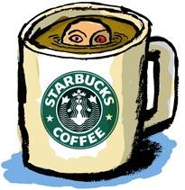 Starbucks - It's an addiction. Cold, hot, foamy, etc. I love starbucks.