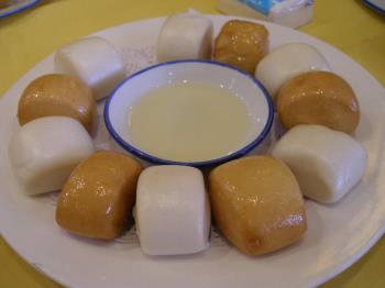 Mantou - Chinese steamed boat