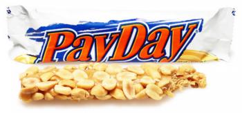 PayDay Nut Fudge Bar