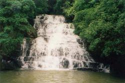 Shillong/India - Elephant fall