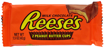 Reese's Peanut Butter Cups. Wiki image.