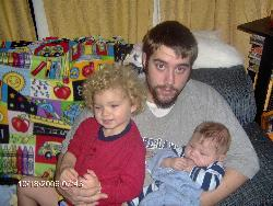 my son and grandsons - My son and his two boys
