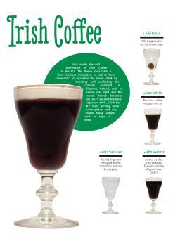 Irish coffee - how to make it