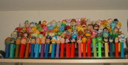 Pez Dispensers - My collection of pez dispensers.