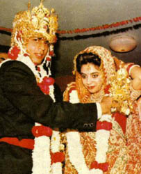 sharukh khan - sharukh n gouri in a memorable day