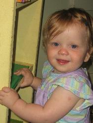 My daughter - Isabella