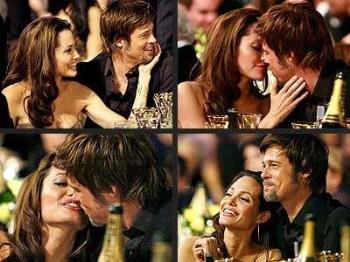 Brad & Angelina, the Good Times