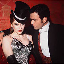 Moulin Rouge - Ewan McGregor & Nicole Kidman as Christian and Satine in the superb movie, the moulin rouge.