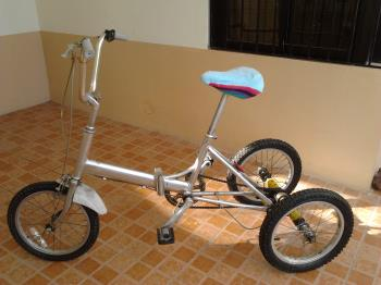 Here is my trike.