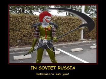 """Mother Russia""-meme about McDonald's"