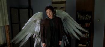 Alan Rickman as 'God's angel' http://images2.fanpop.com/image/photos/14000000/Metatron-Alan-Rickman-Scenes-dogma-14012453-672-304.jpg