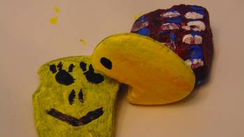 Pac man rock