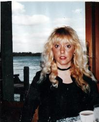Just me - Sitting in the St. Clair Inn (Michigan)