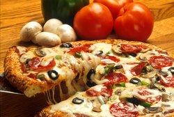 pizza - cheese pizza