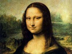 monalisa smile - painting,monalisa