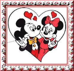 Lovers.... - Micky Mouse and Minnie Mouse Lovers...