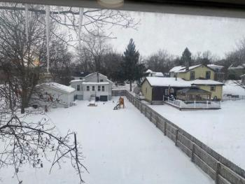 A view from my back window, taken with my iPhone