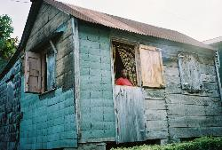 A home in Dominica - taken in June 03