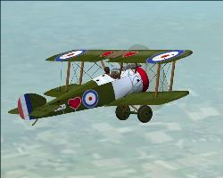Sopwith Camel!! - Flying the old way