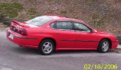 My car - 2002 Chevy Impala (my Valentine's Day present)