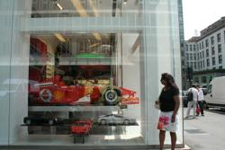 Do I want a ferrari? - I am happy looking at the ferrari in the window.
