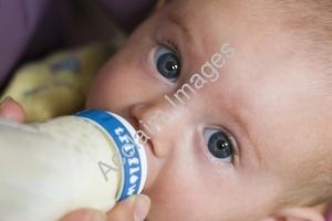 baby - drinking milk