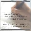 Why I write - Why I write...