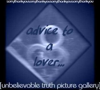 Advice to a Lover - Advice to a Lover