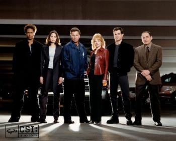 The CSI Team - Good Sci-fi series