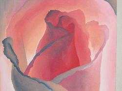 Rose Painting - My first oil painting which was done my freshmen year of college.