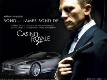 Daniel Craig as the new face of James Bond - Daniel Craig... Fitting the shoes of James Bond quite snugly!!
