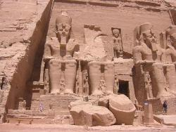 Temple of Ramses at Abu Simbel - It's amazing that they created all this without modern machines