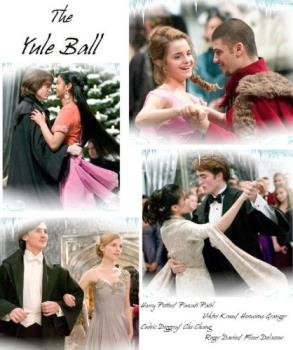 harry potter - yule ball