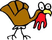 HAPPY TURKEY DAY! - TURKEY!!