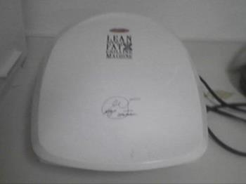 George Foreman Grill - here is my Foreman Grill that I use to cook chicken, steaks, and other meals.  Works great.