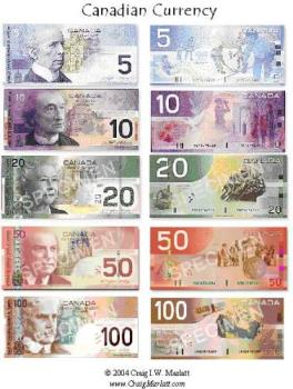 Canadian Currency - canadian currency