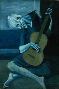 Guitarist - A old man (guitarist) from medeival era.