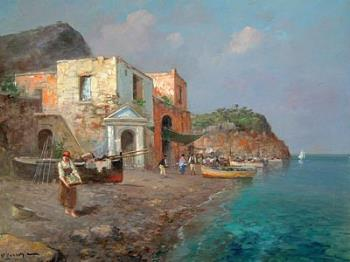 marina - an italian painting!