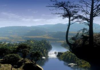 Paisagem de sonho - Dreamland landscape