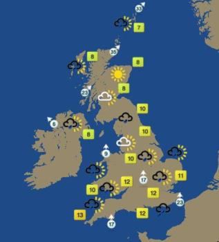 Weather - BBC weather is the best