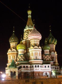 S.Basilio Cathedral - a beautiful picture from Russia. It's inside Cremlin, this is S.Basilio Cathedral. It's beautiful!