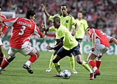 Benfica - Benfica in Champions league