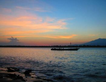 Sunrise on Gili Trawangan - Sunrise on Gili Trawangan