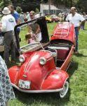 Messerschmitt Car - foto of messerschmitt car with its top open.