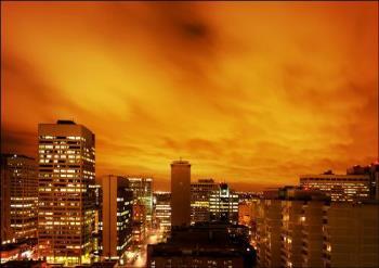Orange sky - Orange sky